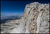 Mount Conness summit. Yosemite National Park ( color)