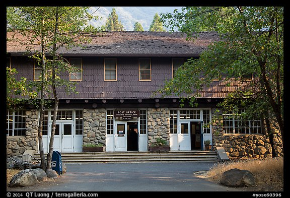 Post Office. Yosemite National Park (color)
