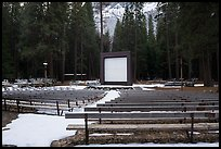 Amphitheater, Lower Pines Campground. Yosemite National Park ( color)