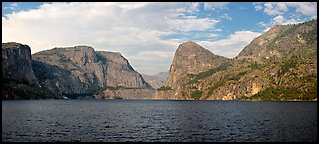 Hetch Hetchy. Yosemite National Park, California, USA. (color)