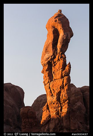 Spire. Arches National Park (color)