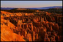 Silent City in Bryce Amphitheater from Bryce Point, sunrise. Bryce Canyon National Park, Utah, USA. (color)