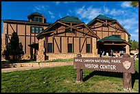 Visitor center. Bryce Canyon National Park ( color)
