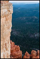 Cliffs near Yovimpa Point. Bryce Canyon National Park, Utah, USA. (color)