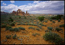 Chesler Park. Canyonlands National Park, Utah, USA.