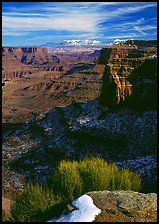 Distant canyons from Green River Overlook, Island in the Sky. Canyonlands National Park ( color)