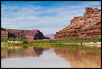 River view, Colorado River. Canyonlands National Park ( color)