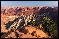 Crater of Upheaval Dome. Canyonlands National Park ( color)