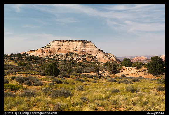 Aztec Butte. Canyonlands National Park (color)