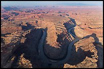 Aerial view of the Confluence. Canyonlands National Park ( color)