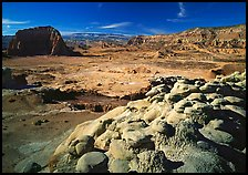 Lower South Desert. Capitol Reef National Park, Utah, USA. (color)