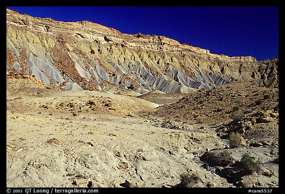 Colorful Cliffs. Capitol Reef National Park (color)