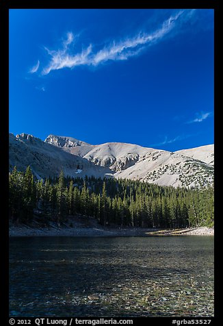 Teresa Lake. Great Basin National Park (color)