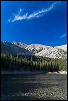 Teresa Lake. Great Basin National Park, Nevada, USA. (color)