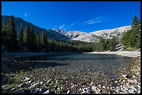 Snake range and Teresa Lake. Great Basin National Park ( color)