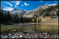 Mt Wheeler above Stella Lake. Great Basin National Park ( color)