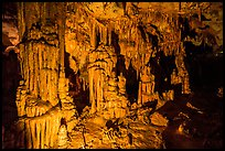Columns, Lehman Cave. Great Basin National Park ( color)