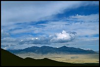 Desert Mountain ranges. Great Basin National Park ( color)