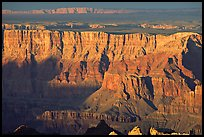 Desert View, sunset. Grand Canyon National Park ( color)