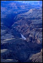 Granite Gorge, afternoon. Grand Canyon National Park ( color)