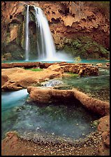 Havasu Canyon near Hualapai Hilltop. Grand Canyon National Park, Arizona, USA. (color)