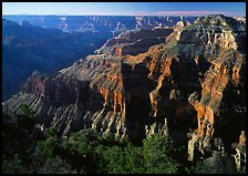 Canyon landscape. Grand Canyon  National Park, Arizona, USA.