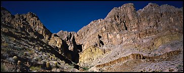 Towering cliffs. Grand Canyon National Park (Panoramic color)