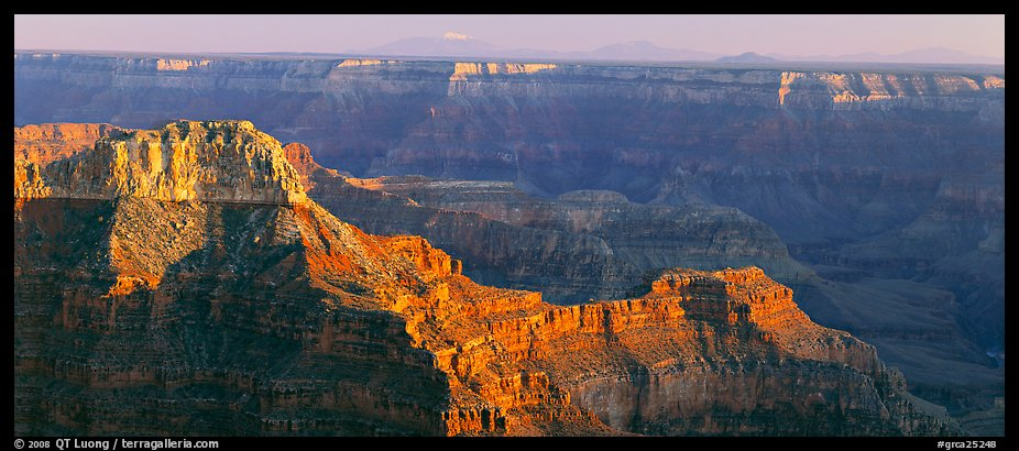 Landscape from Point Sublime. Grand Canyon National Park (color)