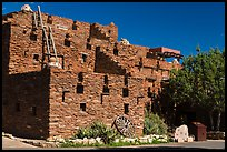 Hopi House in pueblo style. Grand Canyon National Park, Arizona, USA. (color)