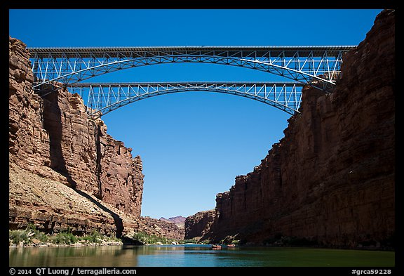 Navajo Bridge. Grand Canyon National Park (color)