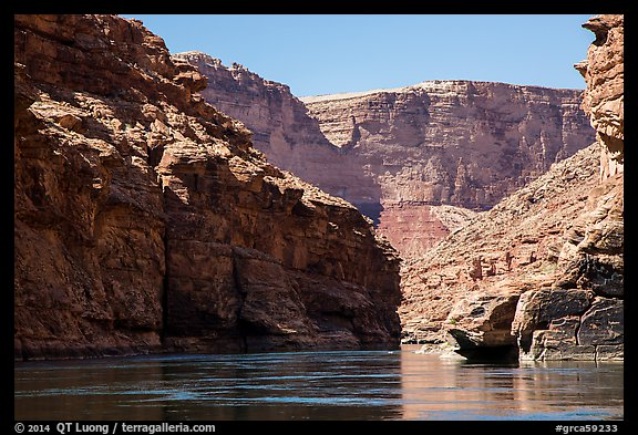 Marble Canyon of the Colorado River. Grand Canyon National Park (color)