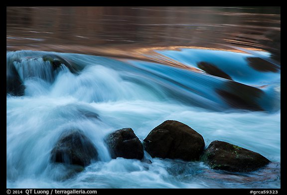 Boulders and rapids. Grand Canyon National Park (color)