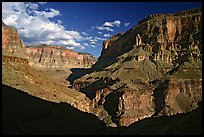 Confluence of Tapeats Creek and Thunder River. Grand Canyon National Park ( color)