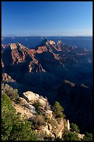 View from Bright Angel Point. Grand Canyon National Park, Arizona, USA.