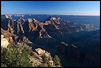 Bright Angel Point, late afternoon. Grand Canyon National Park, Arizona, USA.
