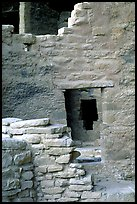 Windows in Spruce Tree House. Mesa Verde National Park ( color)