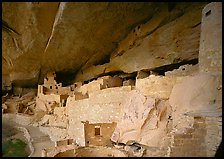 Cliff Palace Anasazi dwelling. Mesa Verde National Park ( color)