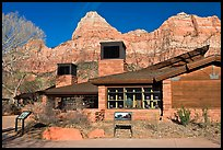 Zion Visitor Center. Zion National Park, Utah, USA. (color)
