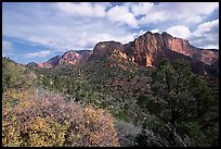 Finger canyons of the Kolob. Zion National Park ( color)