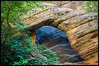 Arch, Hidden Canyon. Zion National Park ( color)