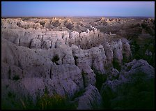 Sheep Mountain table at dusk. Badlands National Park, South Dakota, USA.