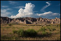 Cedar Butte, South Unit. Badlands National Park ( color)