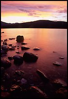 Lake McDonald at sunset. Glacier National Park ( color)