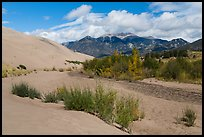 Dry Medano Creek. Great Sand Dunes National Park, Colorado, USA. (color)
