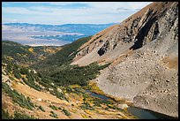Medano Lakes from above. Great Sand Dunes National Park and Preserve ( color)