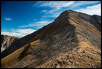 Ridge, Mount Herard. Great Sand Dunes National Park and Preserve ( color)