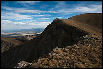 Mount Herard rounded summit. Great Sand Dunes National Park and Preserve ( color)