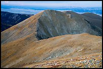 Alpine tundra slopes of Mount Herard. Great Sand Dunes National Park and Preserve ( color)