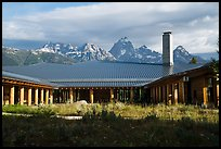 Craig Thomas Discovery and Visitor Center. Grand Teton National Park ( color)
