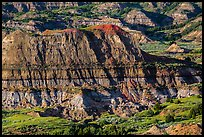 Badlands, Painted Canyon. Theodore Roosevelt National Park ( color)